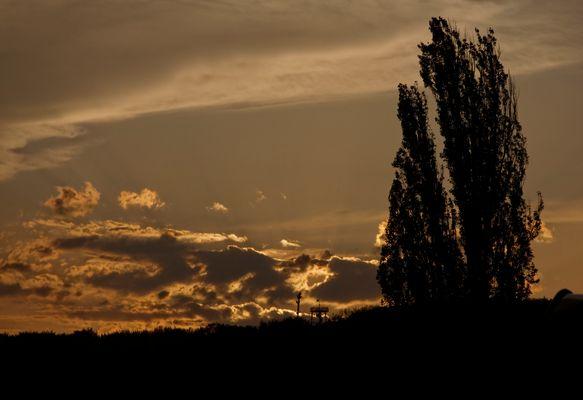 Sonnenuntergang am Bürgerturm