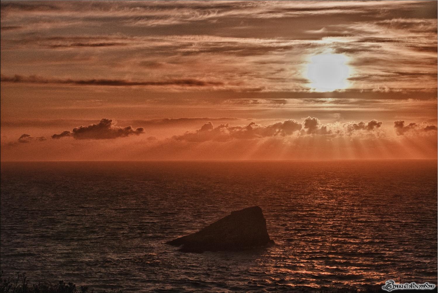 Sonnenuntergang am Cap Fréhel