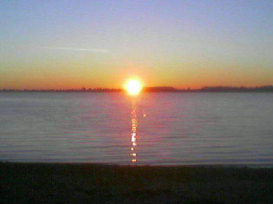 Sonnenuntergang am Cosi