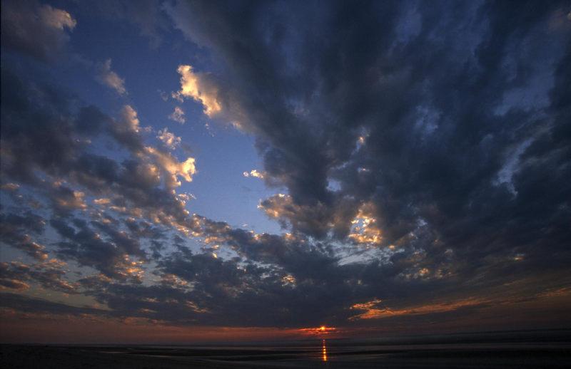 Sonnenuntergang am Eighty-Mile Beach