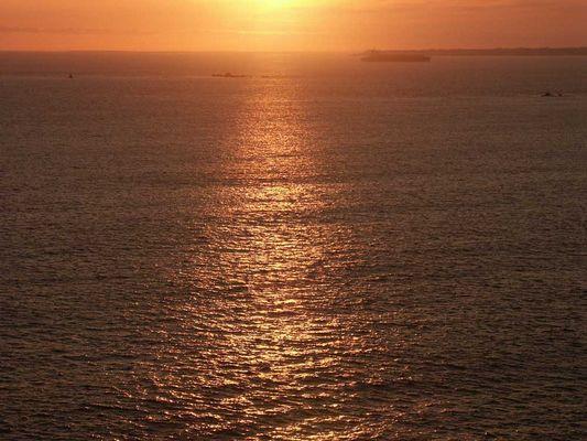 Sonnenuntergang am Ende der Welt