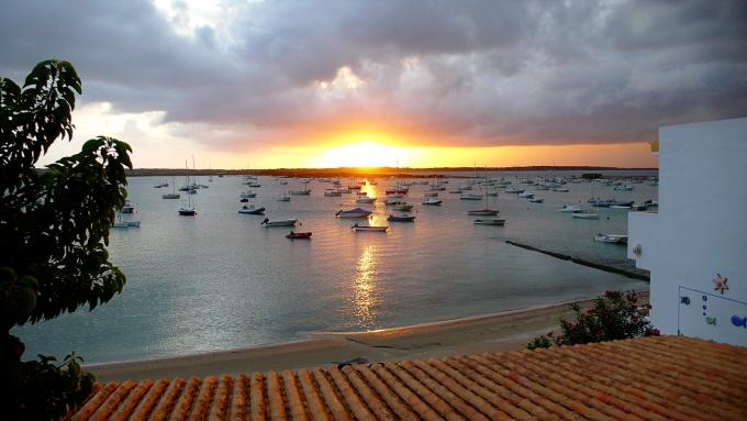 Sonnenuntergang am Estany d' es Peix
