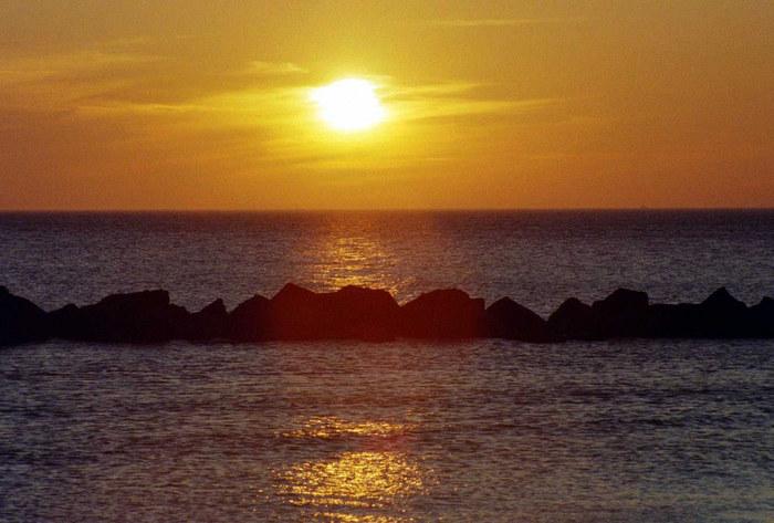 Sonnenuntergang am Fischland