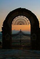 Sonnenuntergang am Golf von Korinth