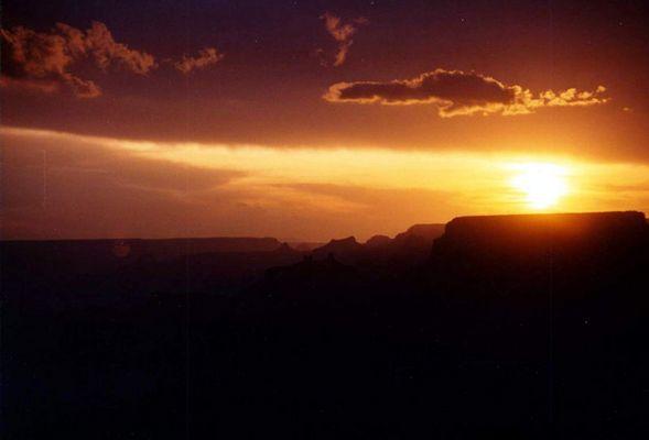 Sonnenuntergang am Grand Canon