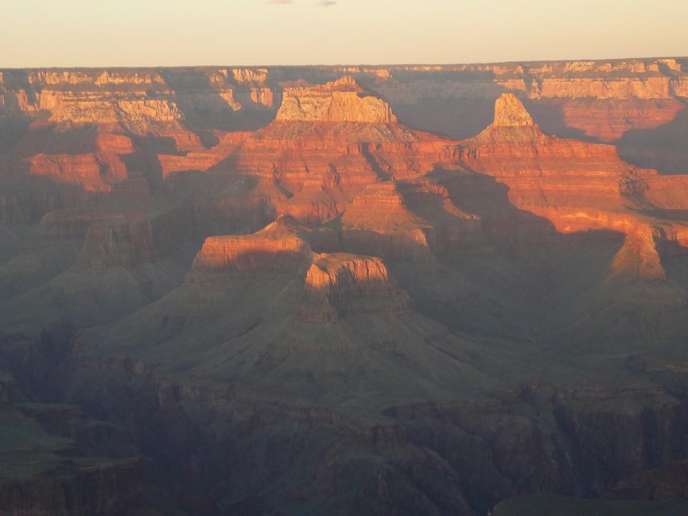 Sonnenuntergang am Grand Canyon