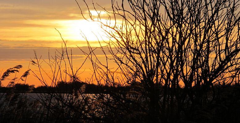 Sonnenuntergang am Großen Meer
