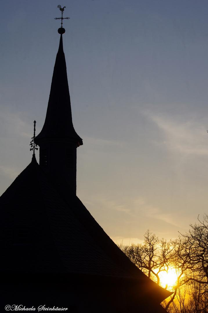 Sonnenuntergang am Kapellenberg