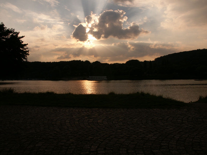 Sonnenuntergang am Kemnader See