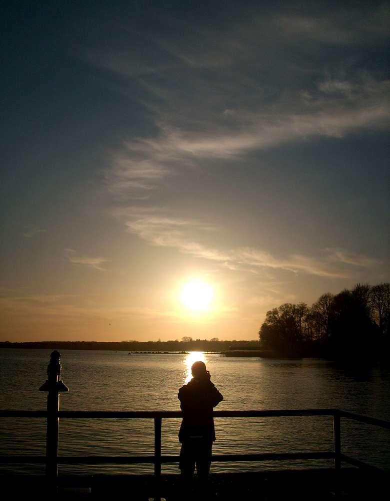 Sonnenuntergang am Kietz 1