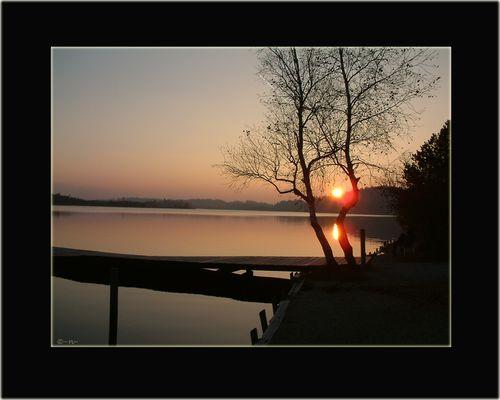 ~Sonnenuntergang am Kirchsee~