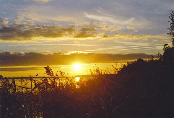 Sonnenuntergang am Kölpinsee