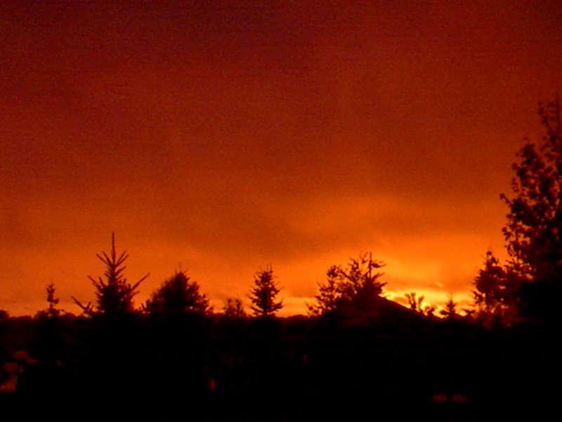 Sonnenuntergang am Lake Michigan II