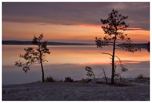 Sonnenuntergang am Lelang II