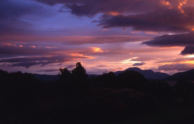 Sonnenuntergang am Loch Lomond 03