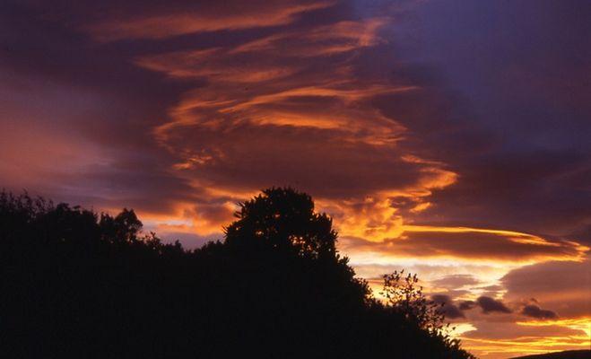 Sonnenuntergang am Loch Lomond 04