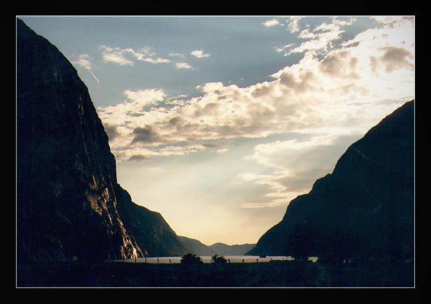 Sonnenuntergang am Lysefjord (reload)