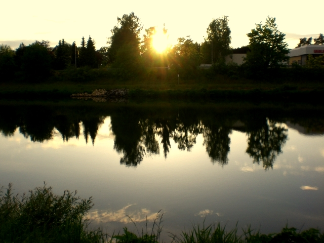 SonnenUntergang am Main
