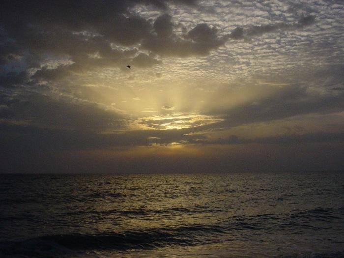 Sonnenuntergang am Meer #2