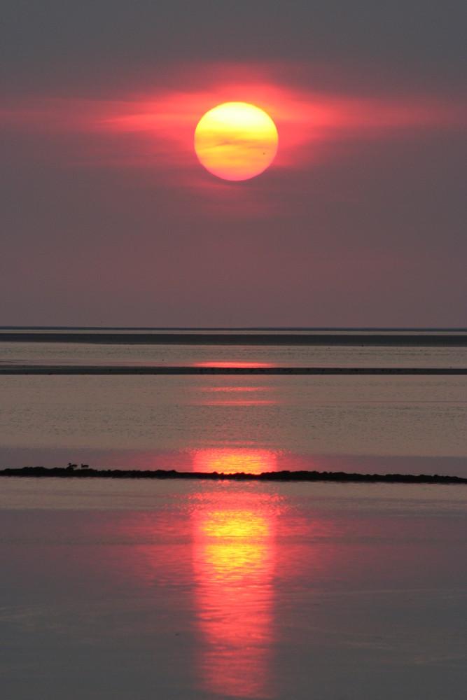 Sonnenuntergang am Meer :-)