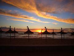 Sonnenuntergang am Meer I