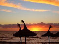 Sonnenuntergang am Meer III