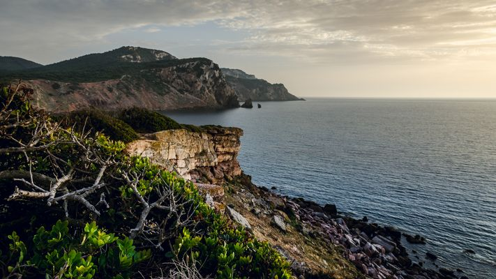 Sonnenuntergang am Meer in der Nähe von Alghero 2