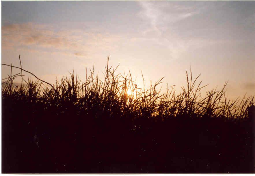 Sonnenuntergang am Meer in Kinsale - mal anders