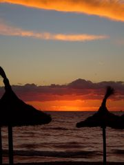 Sonnenuntergang am Meer IV