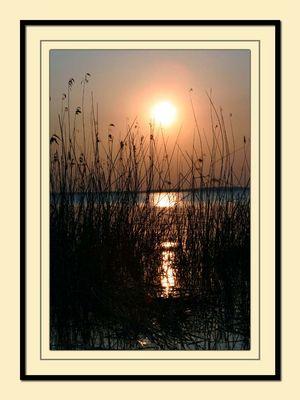 Sonnenuntergang am Müritzsee