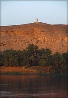 Sonnenuntergang am Nil..