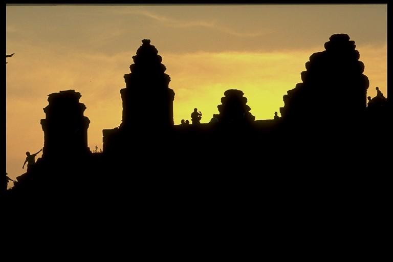Sonnenuntergang am Phnom Bakheng