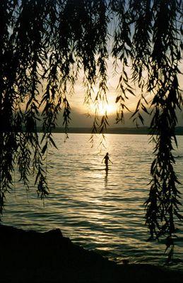 Sonnenuntergang am Plattensee