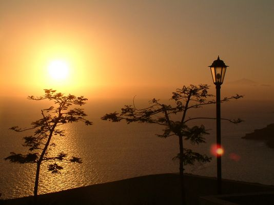 Sonnenuntergang am Playa Amadores / Mogán