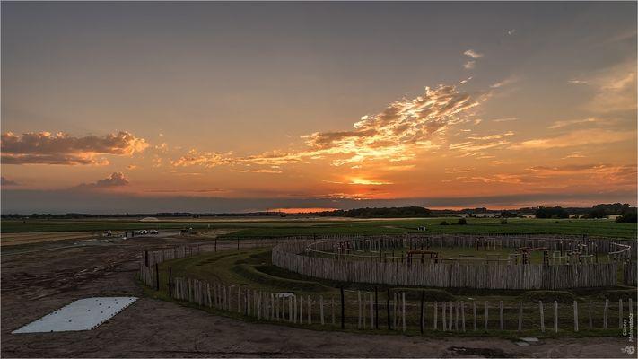 Sonnenuntergang am Ringheiligtum