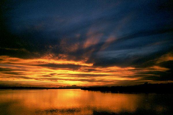 Sonnenuntergang am Rio Araguaya
