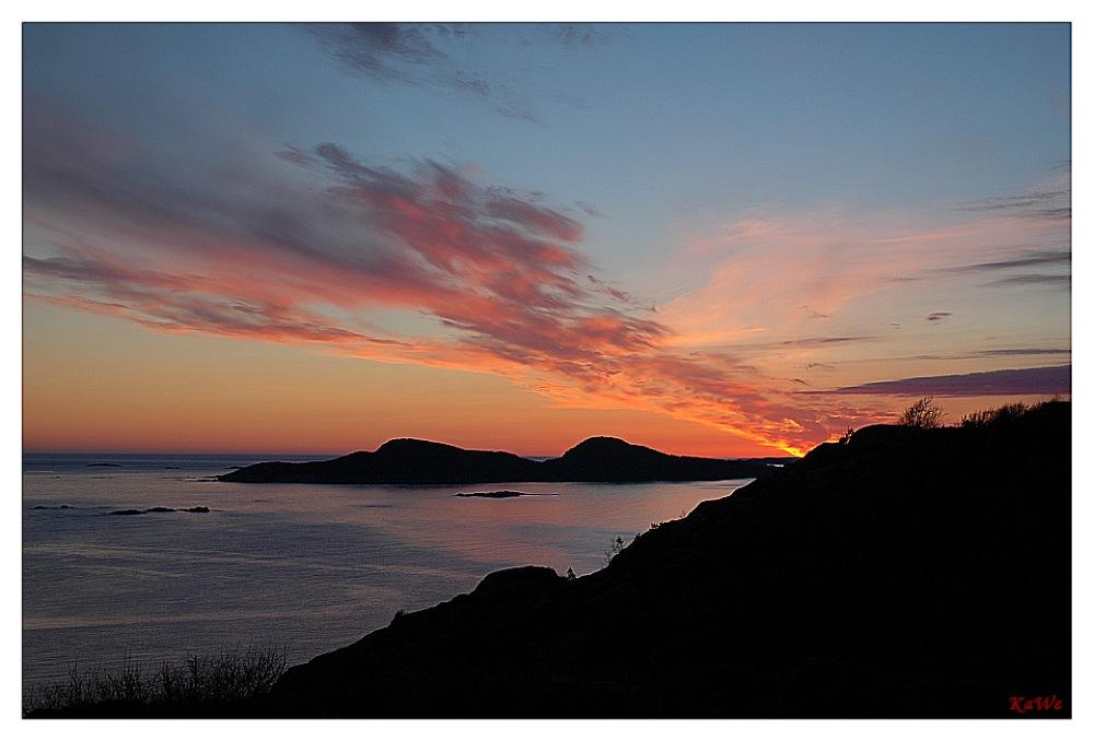 Sonnenuntergang am Rosfjord (reload)