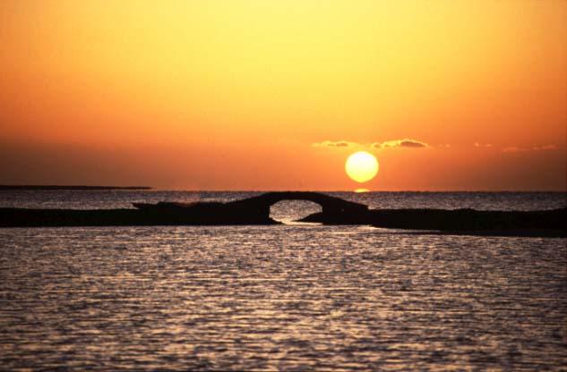 Sonnenuntergang am Roten Meer