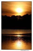 Sonnenuntergang am Sodenmattsee