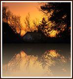 Sonnenuntergang am SpiegelSee