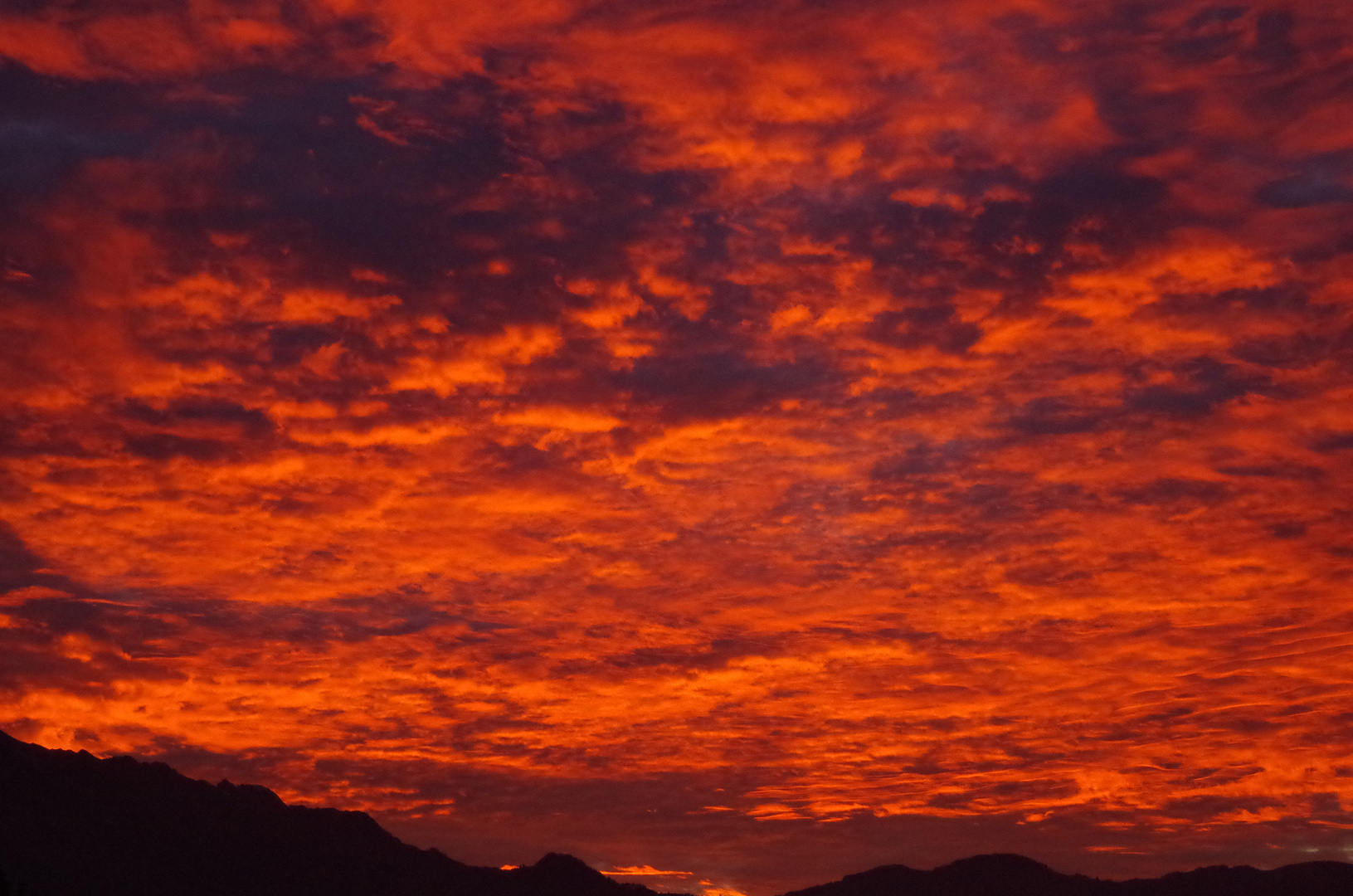 Sonnenuntergang am Stockhorn