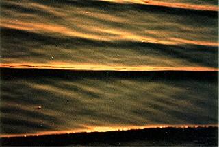 Sonnenuntergang am Strand von Conil