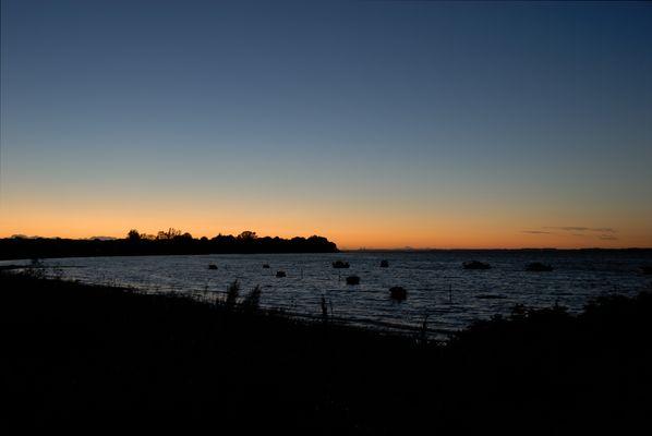 Sonnenuntergang am Strand von Habernis