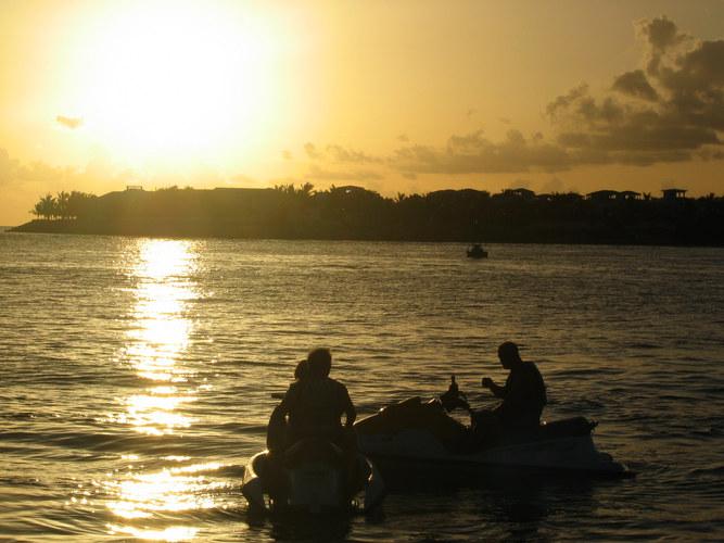 Sonnenuntergang am südlichsten Punkt Amerikas - Florida - Key West