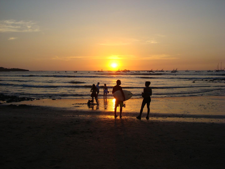Sonnenuntergang am Tamarindostrand