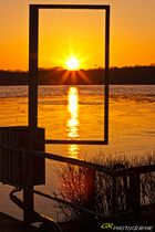 Sonnenuntergang am Tegeler See