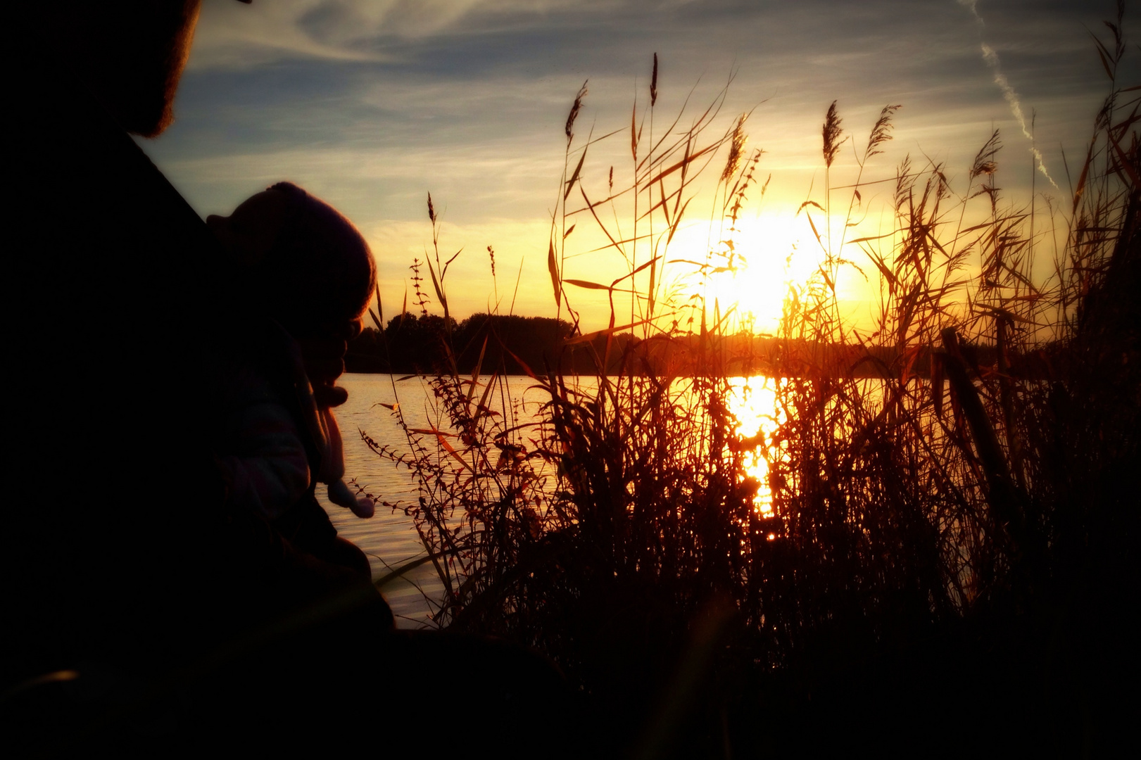Sonnenuntergang am Torfmoorsee