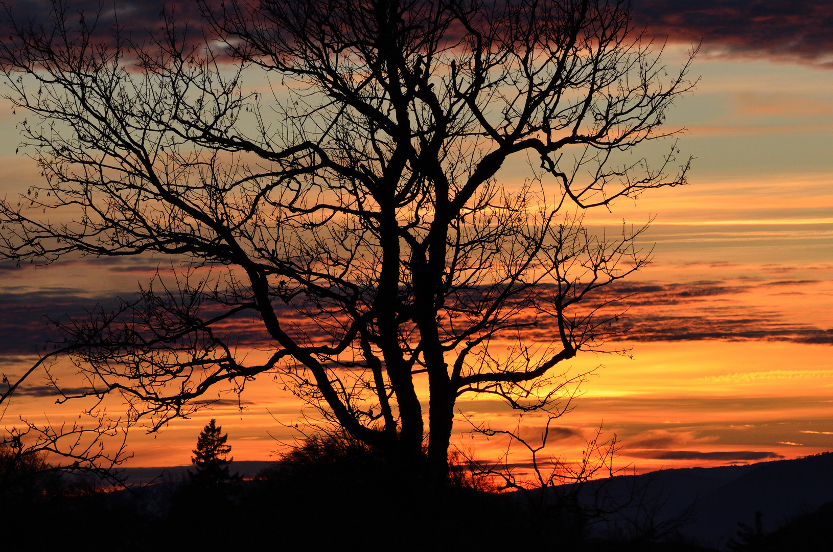 Sonnenuntergang am Weissenstein # 3