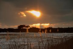 Sonnenuntergang am Weißenweg