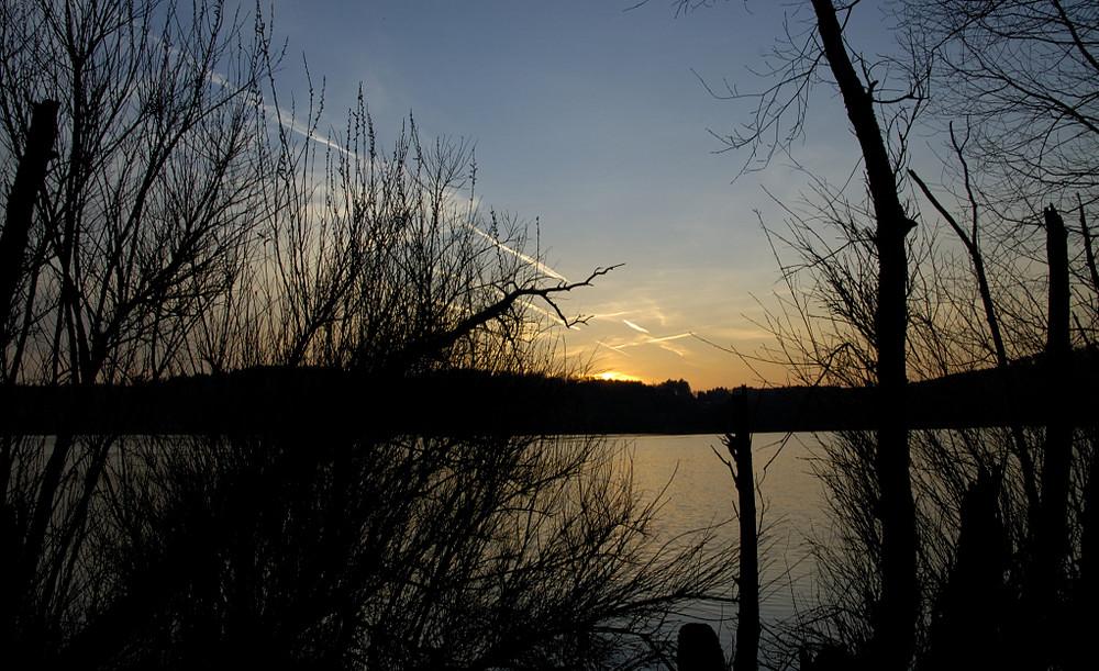 Sonnenuntergang am Wiesensee (Ww)